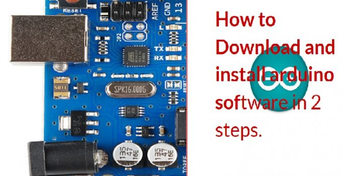 Arduino software download and install