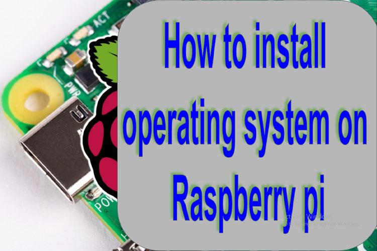 how to install raspbian on raspberry pi