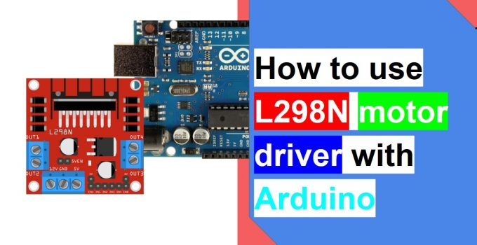 l298n with arduino