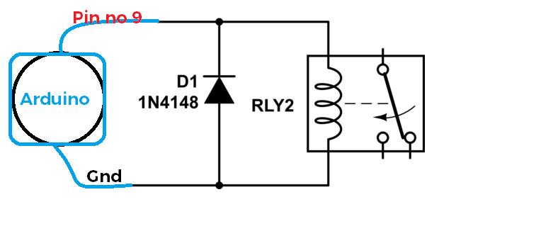 Arduino relay Code