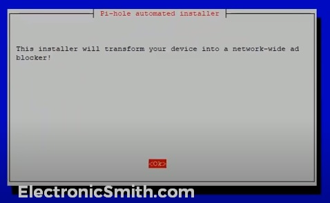 pi hole automatic installation