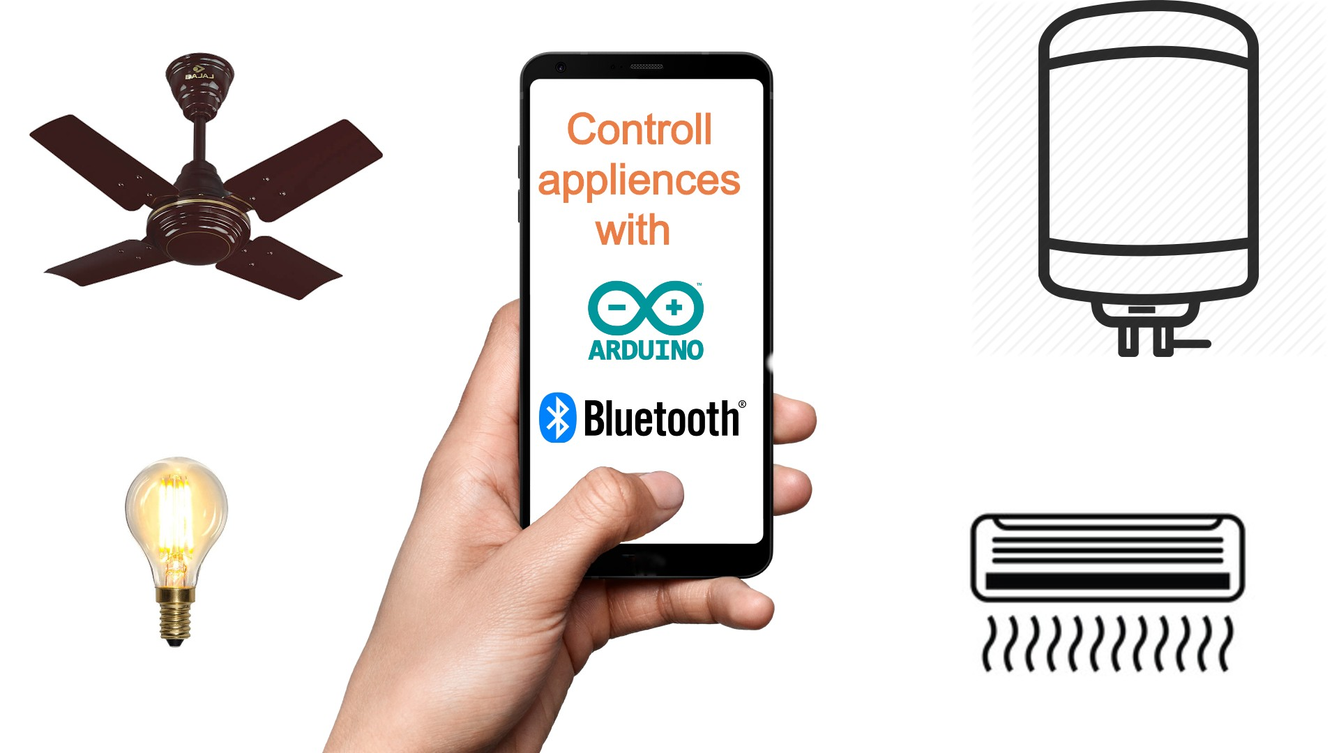Home Automation Using Arduino UNO and Bluetooth