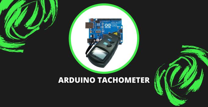 arduino tachometer
